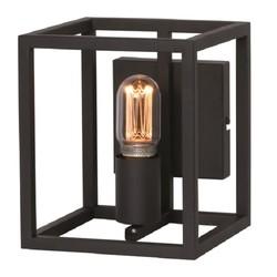 Wandlamp Novanta Vierkant Zwart