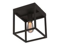 Moderne - Plafondlamp - Zwart - Vierkant - Novanta