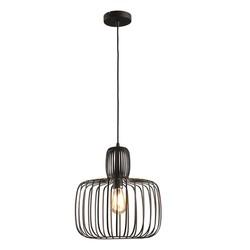 Hanglamp Costola Ø35 cm Zwart