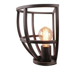 Wandlamp Birdie Ø25 cm Zwart