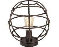 Industriële - Tafellamp - Antiek goud - Open structuur - Pianeta