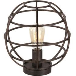 Tafellamp Pianeta Open structuur Antiek goud