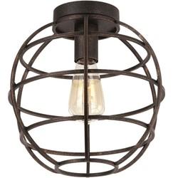 Plafondlamp Pianeta Open structuur Antiek goud