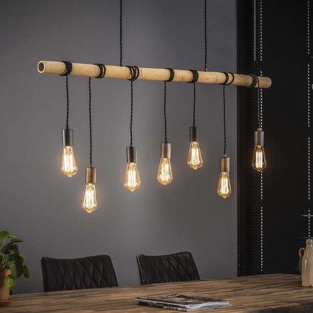 Vind hier de houten hanglamp die het best in het interieur past