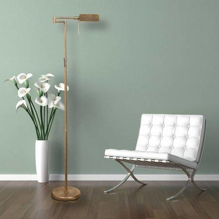 Vind hier de perfecte brons kleurige vloerlamp voor je interieur.
