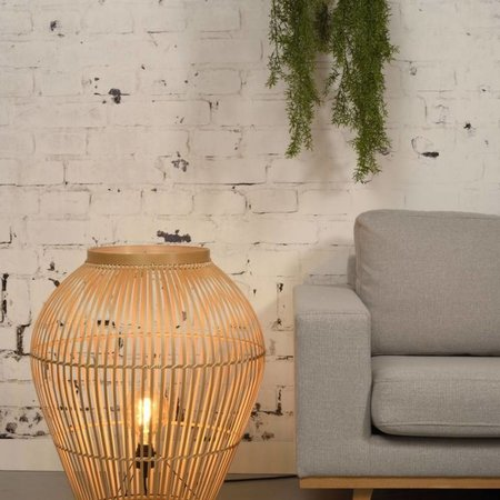 Vind hier de bamboe vloerlamp die het best in het interieur past