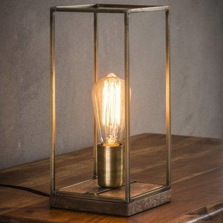 Vind hier de perfecte bronzen tafellamp voor je interieur.