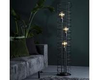 Industriële - Vloerlamp - Charcoal - 3 lichts - Missouri