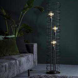 Vloerlamp Missouri 3-lichts Charcoal