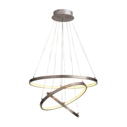 Hanglamp Dione 55W Staal