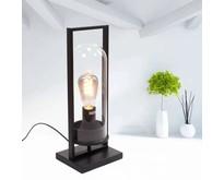 Moderne - Tafellamp - Zwart - 43 cm - Tiburio