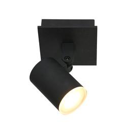 Opbouwspot Points Noirs 1-lichts IP44 Zwart