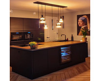 Moderne - Hanglamp - Zwart - 7 lichts - Riva