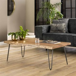 Salontafel Bruno 120x60cm acacia hout naturel
