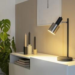 Tafellamp Fjorgard 1-lichts Zwart