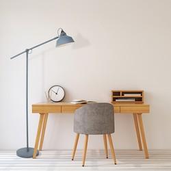 Verstelbare Vloerlamp Roan Grijs