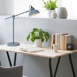 Verstelbare Tafellamp Roan Grijs