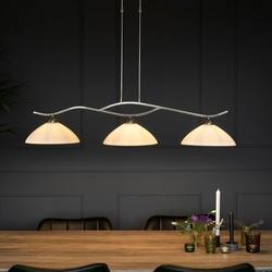 Hanglamp Capri 3-lichts Staal