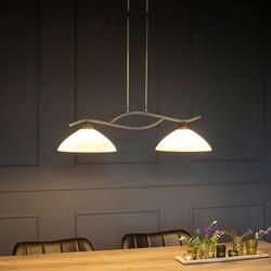 Hanglamp Capri 2-lichts Brons