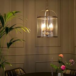 Hanglamp Pimpernel 4-lichts Brons