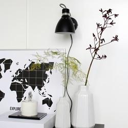 Verstelbare Wandlamp Spring Zwart