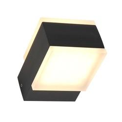 Buiten wandlamp Cebu 2lichts 13W zwart IP54
