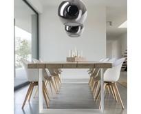 Moderne - Hanglamp - Zwart - 1 lichts - Ø30 cm - Orb