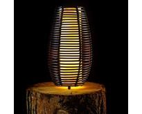Moderne - tafellamp - 1-lichts - zwart - Cocoon