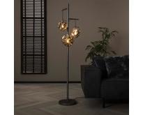 Industriële - Vloerlamp - Oud zilver - 3 lichts - Ice Cube
