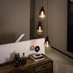 Hanglamp Droplet 3-lichts getrapt