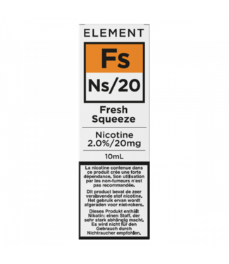 Element Element Ns20 | Fresh Squeeze - 20mg - 10ml