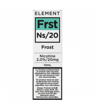 Element Element Ns20 | Frost - 20mg - 10ml