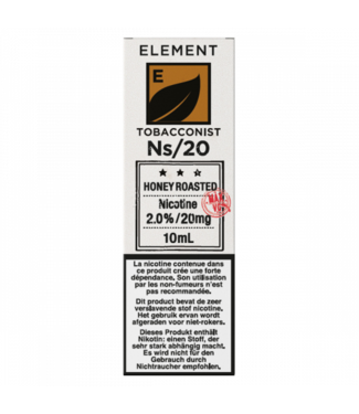 Element Element Ns20 | Honey Roast Tobacco - 20mg - 10ml