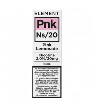 Element Element Ns20 | Pink Lemonade - 20mg - 10ml
