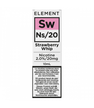 Element Element Ns20  | Strawberry Whip - 20mg - 10ml