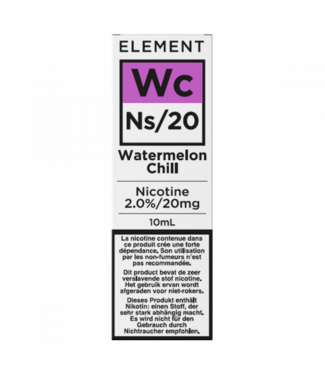 Element Element Ns20  | Watermelon Chill - 20mg - 10ml