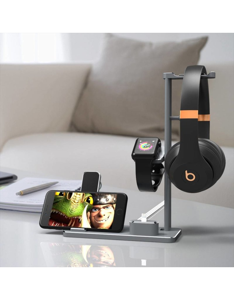 Multifunctionele oplader houder Apple Watch / Airpods / iPhone / iPad
