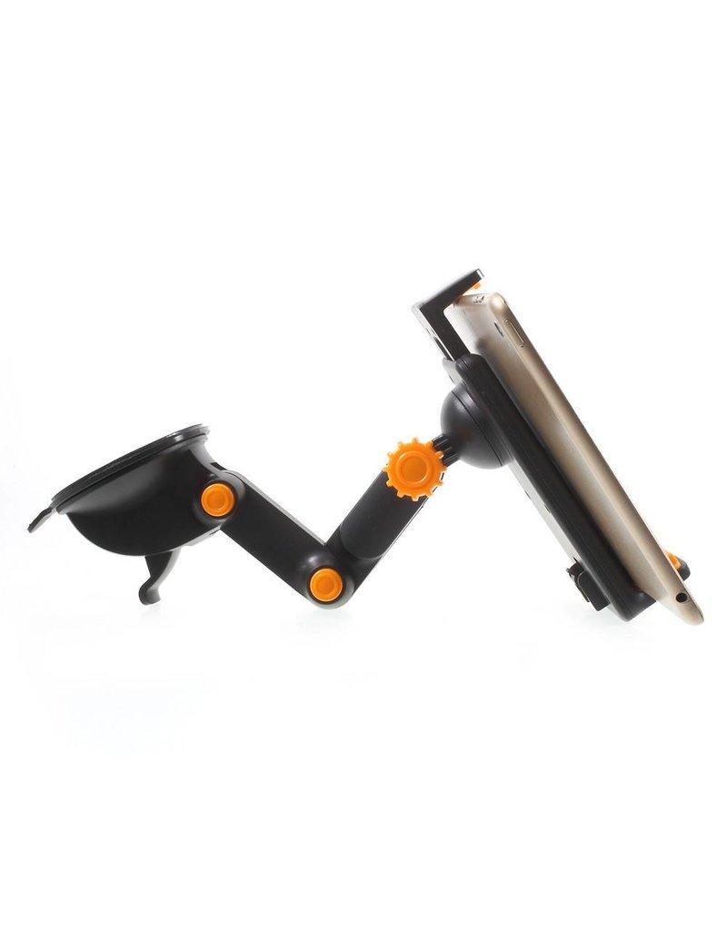 Smartphone / tablet autohouder - Zwart / Oranje