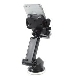 Lange Arm One-touch universele auto telefoonhouder 55mm - 90mm