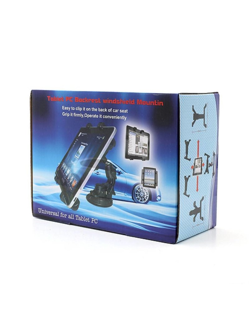 Universele auto voorruit tablet houder 145 - 250mm