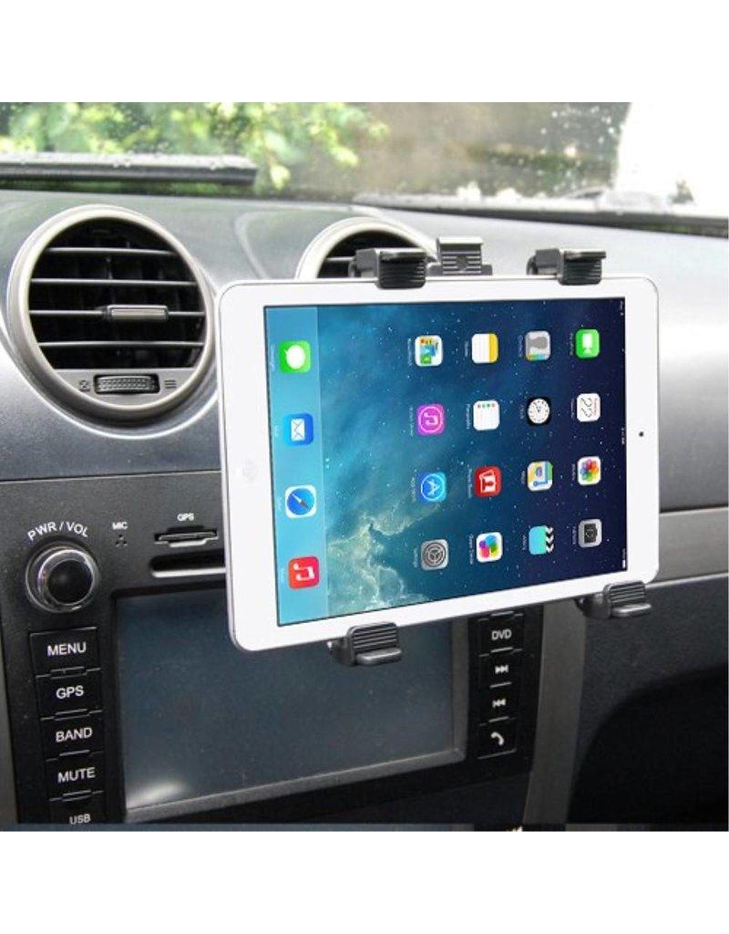 Universele ventilatierooster / hoofdsteun auto tablethouder