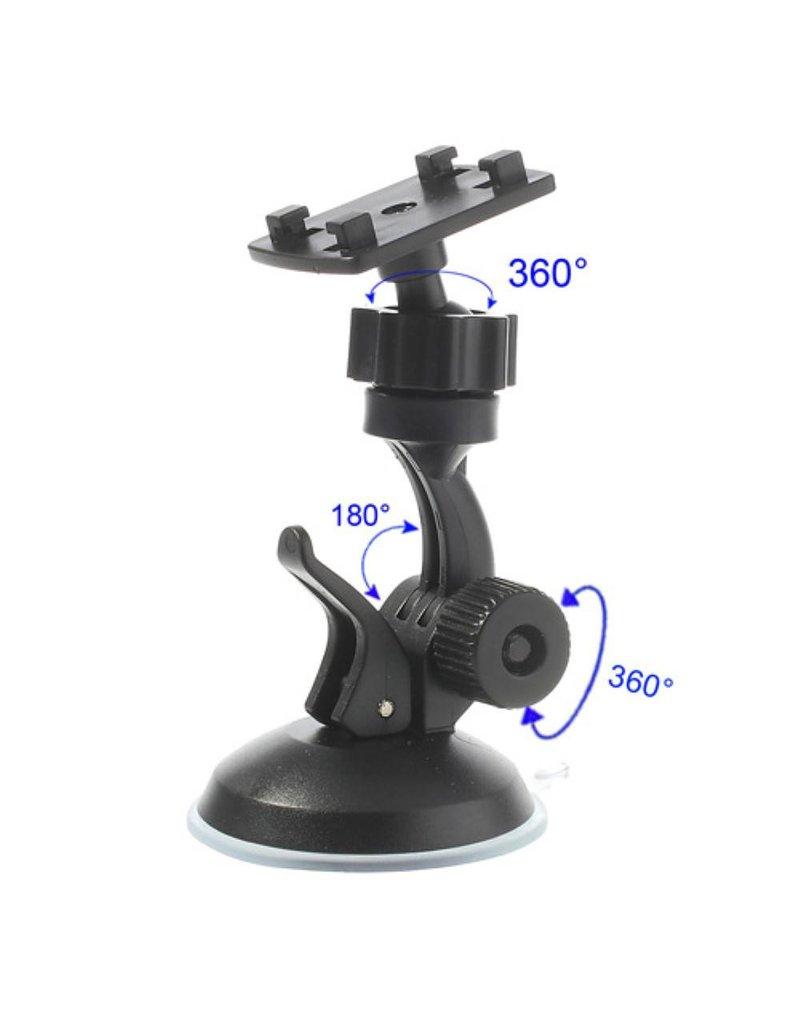Universele 360 graden auto tablethouder voorruit 80 - 115mm