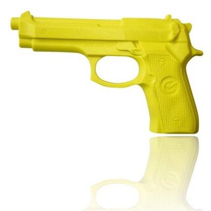 Oefen pistool, rubber