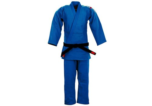 Essimo Judopak Ippon Blauw - Slim Fit