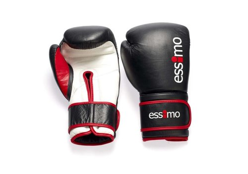 """Essimo Kick Boxing Gloves """"Leather"""""""