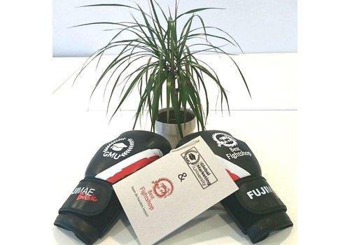Fuji Mae Bokshandschoenen met eigen sticker logo