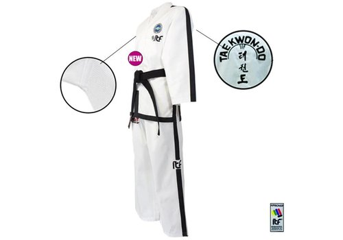 Fuji Mae ITF Approved Sabum Taekwon-Do pak / dobok Ribstof