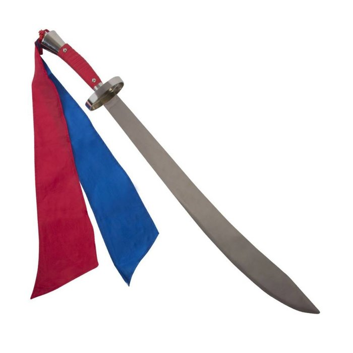 Metalen zwaarden