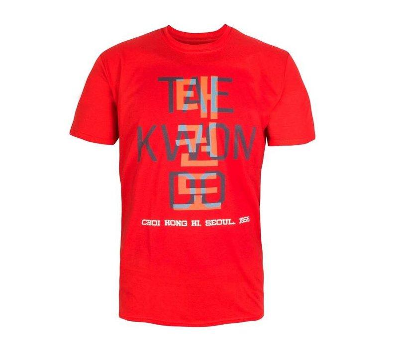 ITF Taekwondo T-Shirt. Kanji