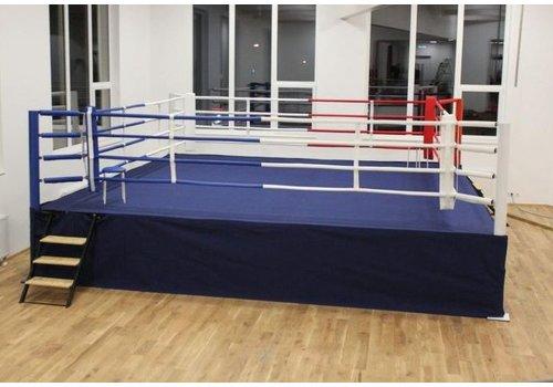 Best Fightshop Boksring met podium 7,5 x 7,5 m